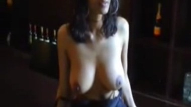 Indian wife exposes her huge sexy boobs to lover