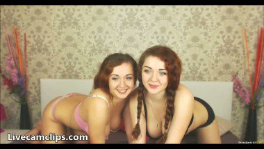 Lesbian sex craziness of young chicks