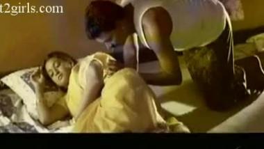 Mallu Babe On Bed At Night