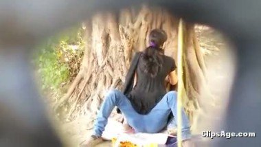 Girlfriend riding bf's dick in park indian porn tube