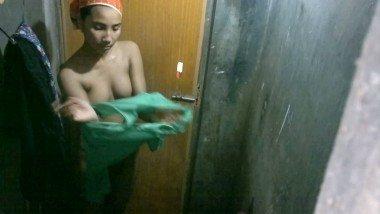 Bangladeshi young girl taking shower Video – 4