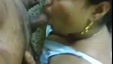 Hot Indian teacher giving hot Blowjob to her lover