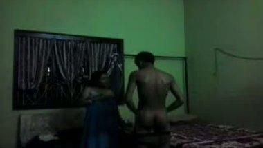Desi village Aunty hardcore home sex with tenant