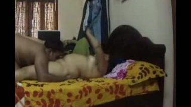 Hidden cam leaked video of aunty desi home sex