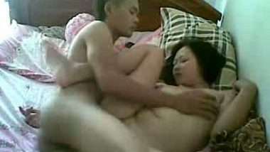 Desi sister in horny mood for home sex with cousin