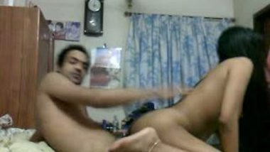 Mumbai teen sister home sex fun with horny brother