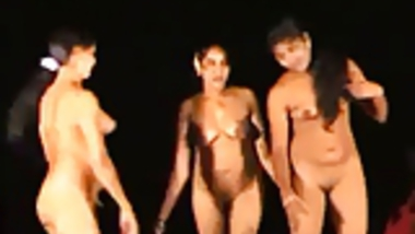 Indian Girls Dancing Nude in Public