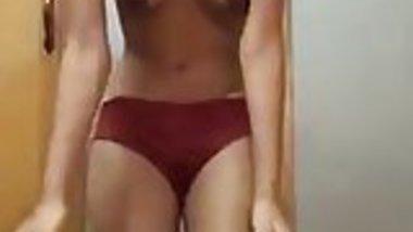 girl friend stripping