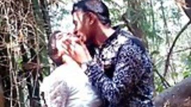 desi couple outdoor