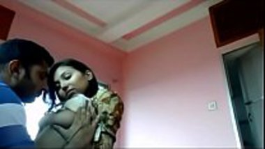Indian college girl in a men's hostel