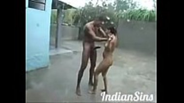 Desi naked teens having sex in the rain