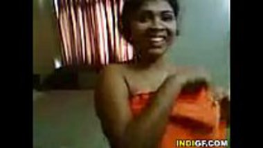 Hot Bengali sister cleaning her brother's dick using mouth