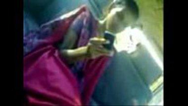 Desi horny girl doing a footjob and kisses a dick