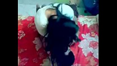 Punjabi girl could not stop kissing her cousin