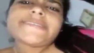Horny bhabhi masturbating with a makeup brush