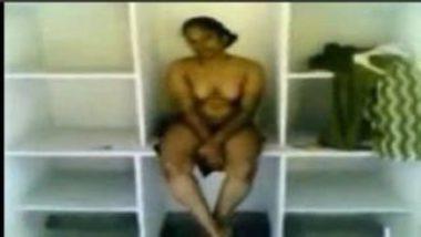 Sexy Telugu Maid Having Fun With Boss In Almirah
