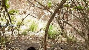 Telugu couple fucking in forest part 1