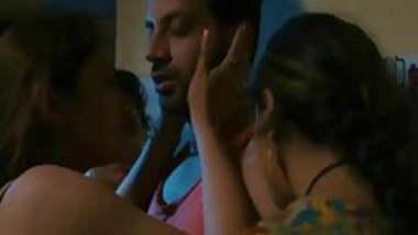 Indian desi threesome girls group sex indian web series