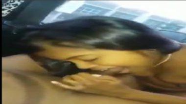 Hot Naked Tamil Girl Lovely Blowjob Inside Car