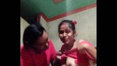 Kanpur Sexy Sali Boobs Sucked By Jija