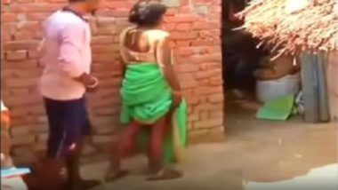 Hot desi village wife ass fucked by boyfriend secretly