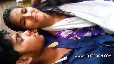 Indian couple having sex in office