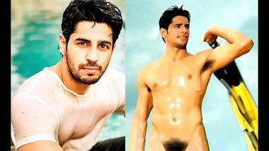 Bollywood actor Sidharth Malhotra Nude