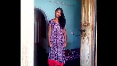 Indian Girl in Nighty