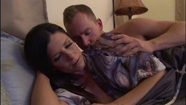 Upset mother calmed by stepson - more videos on amateurcams.cf