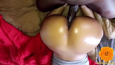 This Trinidadian Ass Made Him Cum Fast