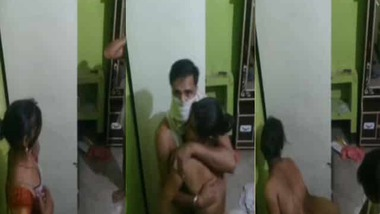 Standing doggy sex style Desi home porn