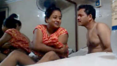 Lucky tamil Guy With Another Aunty