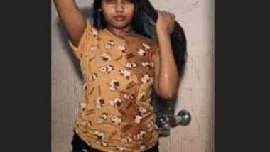 Horny Desi Girl Nude Bath Video Part 2