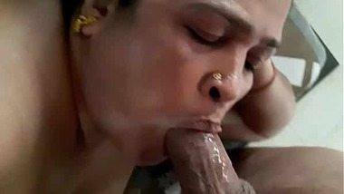 South aunty sucking dick of her Devar video