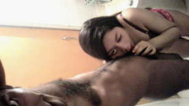 Desi Bengali Hot Couple BJ and Fuck At Hotel Room Part 5