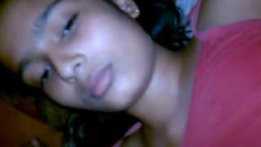 Cute Desi Girl fun in night.