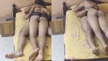 Desi Bangalore wife in hot lingerie fucking wid husband
