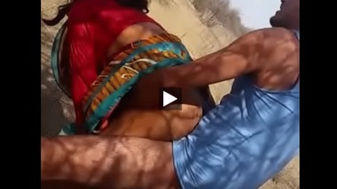 Outdoor doggy sex with a slut in a village