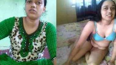 Desi village bhabi show her pussy really hot bhabi