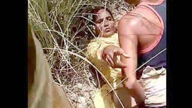 Desi village lover outdoor caught