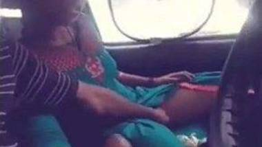 Tamil lovers car foreplay and outdoor sex