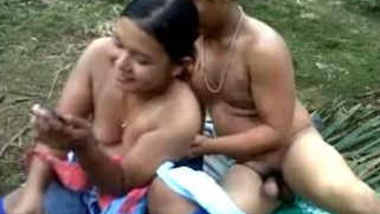 indian hot couple outdoor fucking