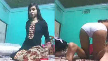 Bengali girl fingering & eating her own cum 1