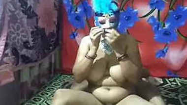 Hot horny Indian mature aunty Sougandha fun with her devar