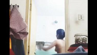 Nandini next door neighbor girl shower 2