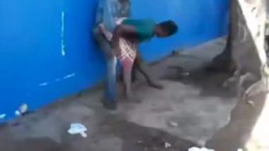 Myanmar girl fucking open place