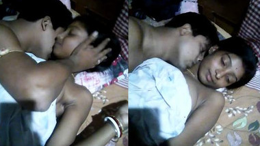 Desi hot couple foreplay