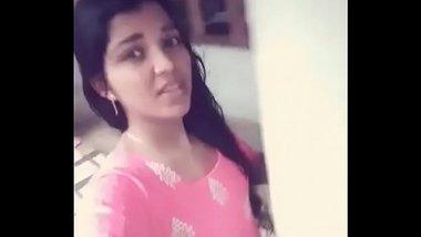 South Indian Girl's Nude Selfie