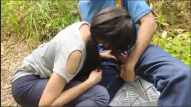 Indian College Couple Boldy Has Open Sex At Park