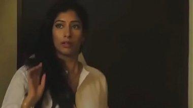 Priya Rai having an oily sex with a white man